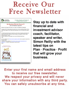 Financial Advisor E-Newsletter